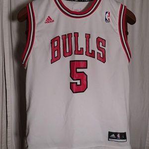 Adidas Chicago Bulls Jersey Size Large The Boozer